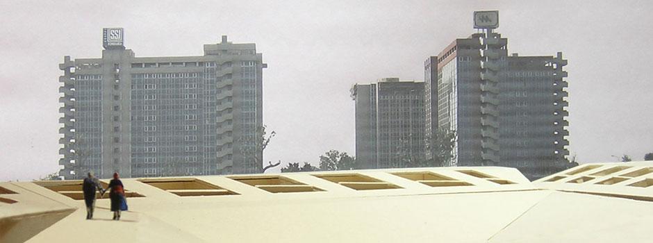 Milano. Nuovi spazi urbani per gli insediamenti di edilizia sociale (Abitare a Milano: via Senigallia)