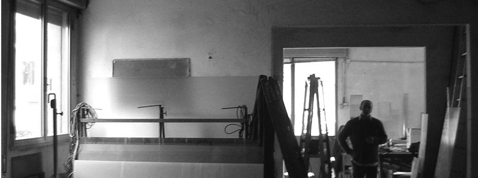 Modena. Riconversione di un laboratorio artigianale