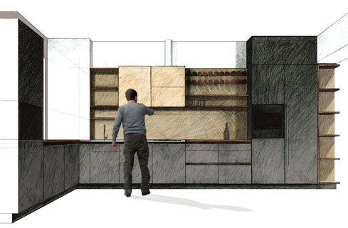 sketch-cucina